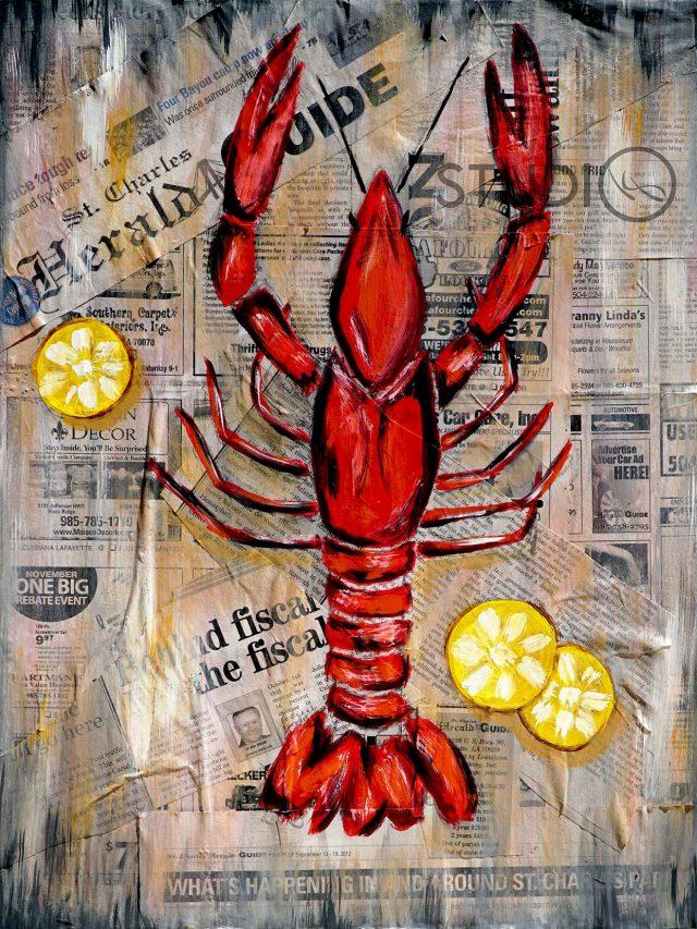 Seafood Boil Painting Set - Crawfish